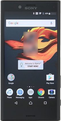 Sony Xperia X Compact Evan Blassin julkaisemassa kuvassa.