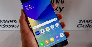 Samsung Galaxy Note7 tulee esiasennettuna vielä Android Marshmallowilla.