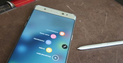 Samsung Galaxy Note7 ja S Pen.