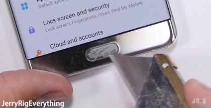 JerryRigEverything Galaxy Note7
