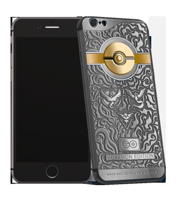 Caviarin iPhone 6s Pokemon Go Edition tarjoaa Pokémon-faneille sopivan puhelimen.