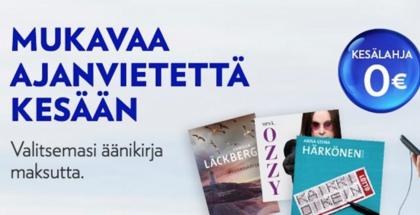 Elisa Kirjasta ajanvietettä kesään.