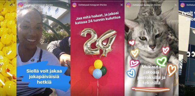 Nyt se on täälläkin: Instagramin Snapchat-kopio tuli Suomeen