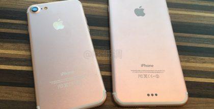 Aiempi vuotokuva osoittaa, millaisia design-muutoksia uusiin iPhoneihin on luvassa. Huomaa suuremman mallin uusi kaksoiskamera ja pienemmän aiempaa suurempi kameran linssi.