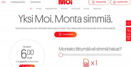 Jatkossa Moi-liittymiä voi tilata myös vain yhdellä SIM-kortilla.