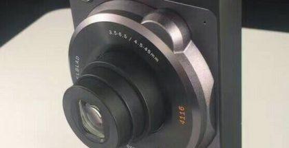 Moto Z Hasselblad -lisäkuori tuo kameran 10x optisella zoomilla.