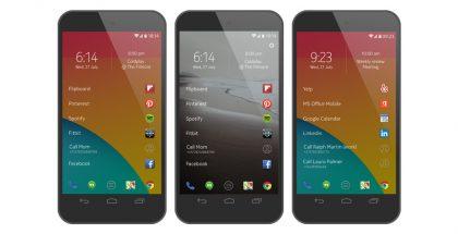 Nokia on kehittänyt Android-käyttöjärjestelmän päälle oman ladattavissa olevan Z Launcherinsa.
