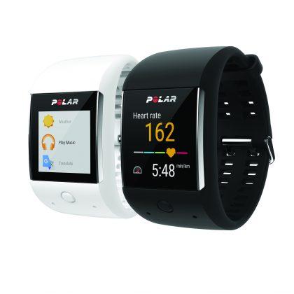 Polar M600 Android Wear -kello tulee kahtena eri värivaihtoehtona.