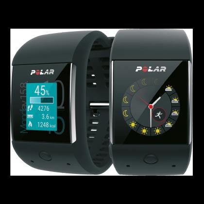 Mukana Polar M600:ssa on urheilutoimintojen lisäksi normaalit Android Wear -toiminnot.