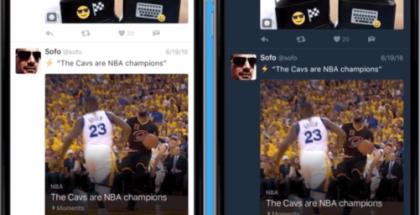 Twitter sai tumman tilan myös iOS-sovellukseensa.