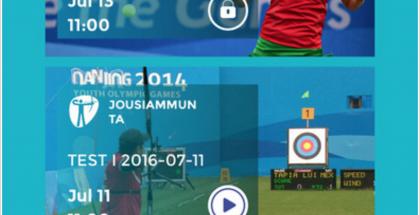 Yle Rio 2016 -sovellus.