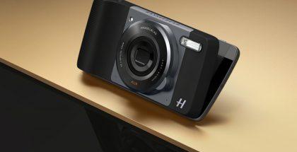 Hasselblad True Zoom Moto Mod -lisäkuori Moto Z:lle.