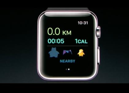 Pokémon GOta esiteltiin Apple Watchille.