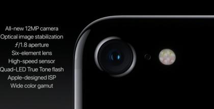 iPhone 7:n kamera.