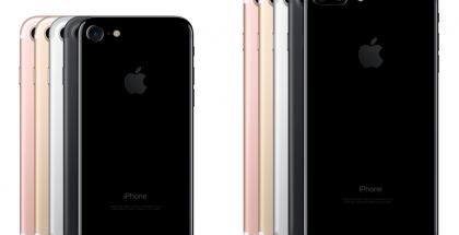 iPhone 7 ja iPhone 7 Plus. Apple myy iPhone 7 -puhelimiaan maailmanlaajuisesti ainakin 84 erilaisena versiona, kun otetaan huomioon erot värissä, tallennusmuistin määrässä, modeempiriissä sekä huomioidaan Japanin omat versionsa.