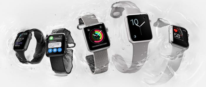 Uusia Apple Watch Series 2 -malleja.