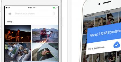 Google Kuvat iPhonelle.