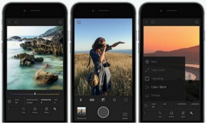 Adobe Photoshop Lightroom iPhonelle.