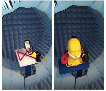 Puhelinten antenneja testattiin tällä tavoin.