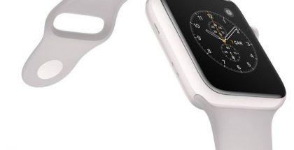 Apple Watch Series 2:n uudessa huippuversiossa on keraaminen rakenne.