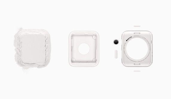 Näin Apple Watch 2:n keraaminen rakenne muotoutuu.