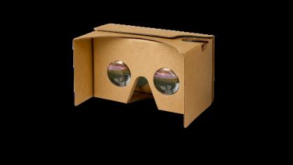 Google Cardboard -virtuaalisilmikko.