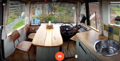 Google Cardboard Camera -sovellus iPhonelle.