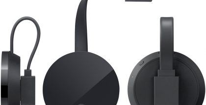 Google Chromecast Ultra.