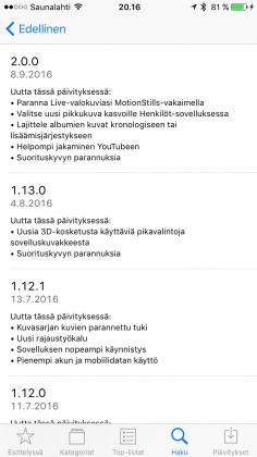Google Kuvat 2.0 -päivitys.