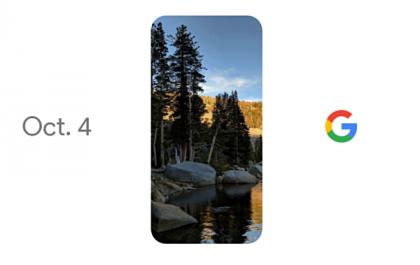 Google esittelee Pixelinsä.