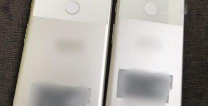 Googlen Pixel-puhelimet aiemmassa vuotokuvassa.