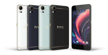 HTC Desire 10 Pro.