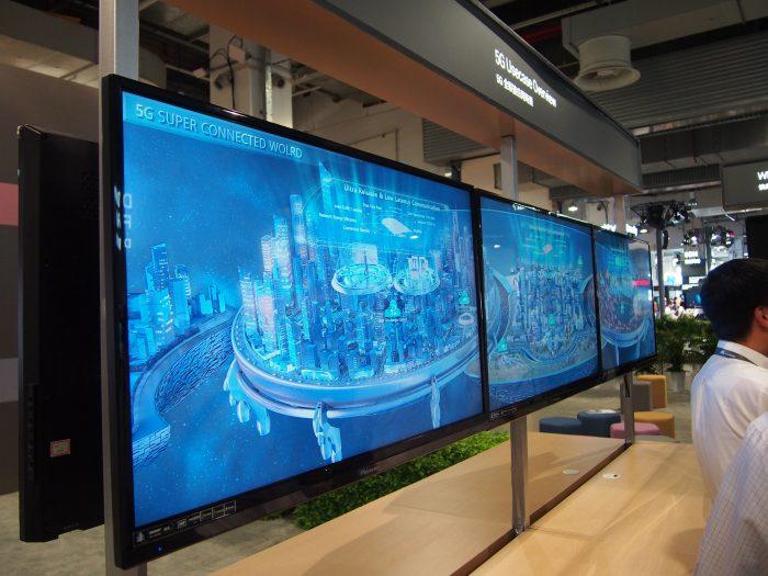 5G-verkkojen kehitystyö on vielä kesken. Tämän vuoksi 5G:n osalta Huaweillakaan ei ollut vielä juuri esiteltävää - tyytyminen oli vain tulevaisuuden käyttötapojen ja -tarpeiden havainnollistamisessa.