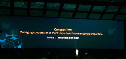 Kumppanuuksia ja yhteistyötä korostettiin Huawei Connectissa.