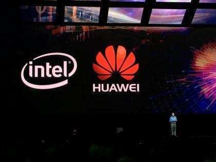 Intelin pääjohtaja Brian Krzanich kertoi Intelin ja Huawein yhteistyöstä Huawei Connect 2016:ssa.