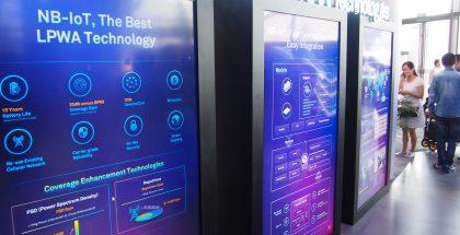 NB-IOT oli uusista verkkotekniikoista näyttävimmin esillä Huawei Connectissa.