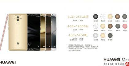 Aiempi väitetty vuotokuva paljastaa Huawei Mate 9 -malliversiot.