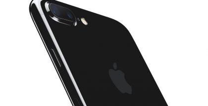 Vertailun vuoksi: iPhone 7 Plus peilimustana värinä.