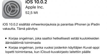 iOS 10.0.0.2 julki.