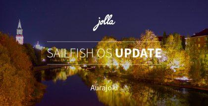 Aurajoki on uusin Sailfish OS -päivitys.