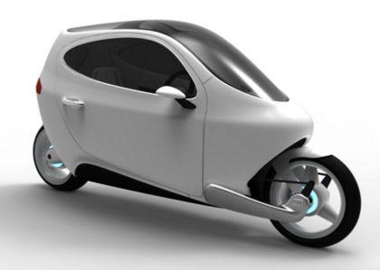 Lit Motorsin kehittämä kaksipyöräinen ajoneuvo.