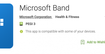 Microsoft Health -nimi on muuttunut Microsoft Bandiksi.