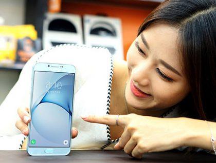 Galaxy A8 (2016) on toistaiseksi esitelty Samsungin kotikentällä Koreassa.