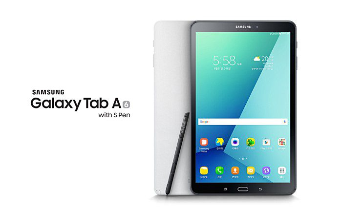 Samsung Galaxy Tab A (2016) S Penillä