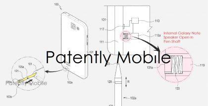 Samsungin patentista kertoi Patently Mobile.