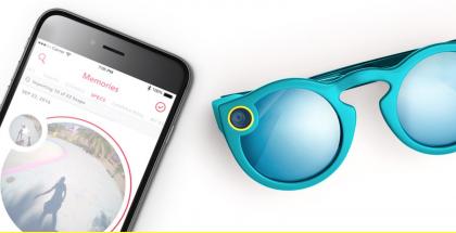 Spectacles-laseista videot siirtyvät Snapchat-sovellukseen.