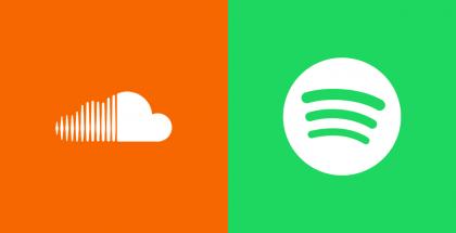 SoundCloud + Spotify.