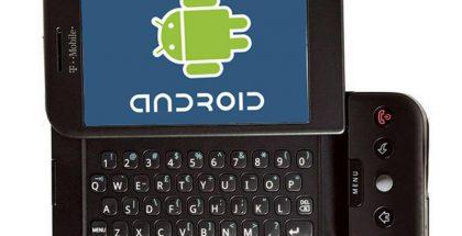 T-Mobile G1 eroaa varsin paljon nykyaikaisesta älypuhelimesta. Näytöllä oli kokoa vain 3,2 tuumaa, mukana oli täysnäppäimistö, kameran tarkkuus oli vain kolme megapikseliä ja niin edelleen. Myös Android oli vasta alkeellinen raakile nykypäivän vuosien aikana kehittyneeseen järjestelmään verrattuna.