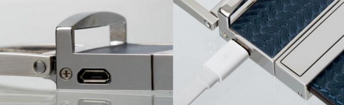 Kovin monesta vyöstä ei vielä löydykään Micro-USB-liitäntää... (käytetään WELTin lataamiseen)