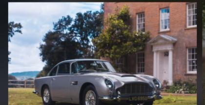 Myydyn Aston Martinin myynti-ilmoitus Vero-sovelluksessa.